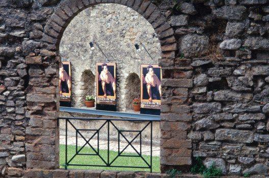 Festival dei Due Mondi in Spoleto – Festival-Plakate (Bild: Claudio Giovanni Colombo / Shutterstock.com)