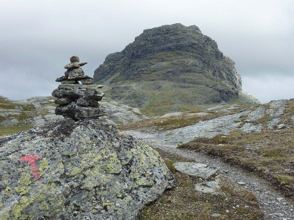 Einer der markantesten Gipfel der ganzen Region ist der Hårteigen. (Bild: © GiZGRAPHICS - fotolia.com)
