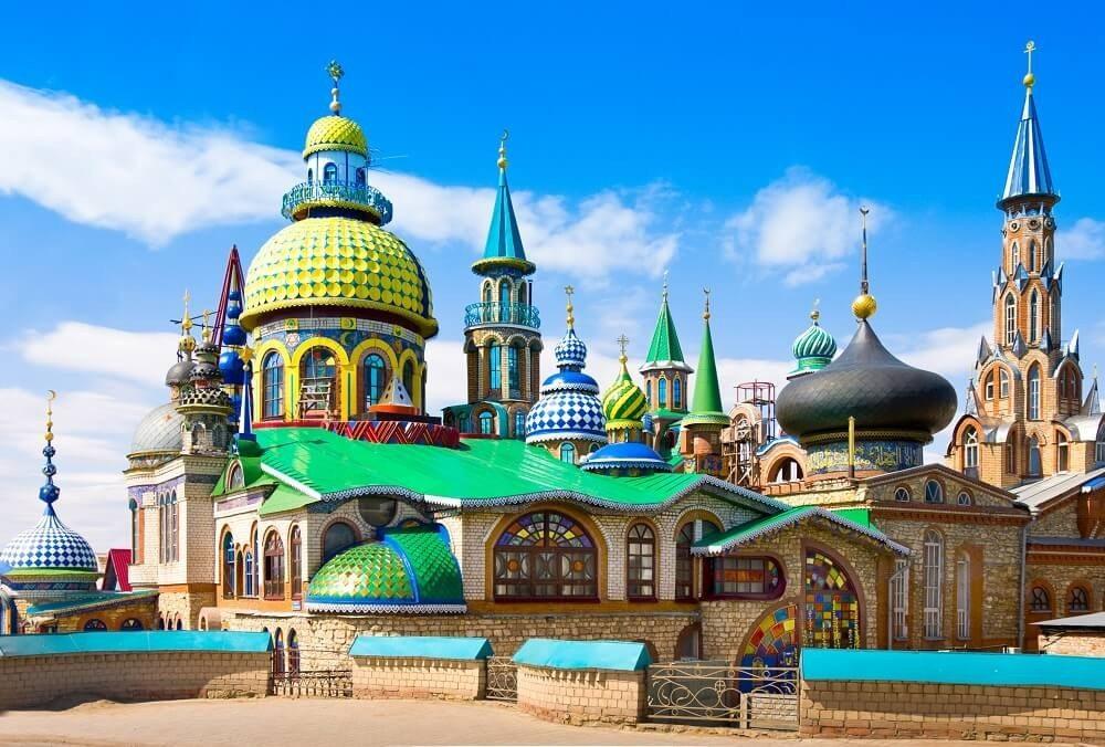 """Der """"Tempel aller Religionen"""". (Bild: © Irina Papoyan - fotolia.com)"""
