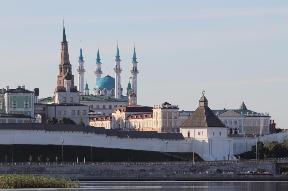 Der Kasaner Kreml ist ein russisches Bauwerk. (Bild: © photobeginner - shutterstock.com)