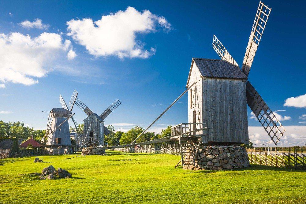 Die historischen Bockwindmühlen (Bild: © anilah - fotolia.com)