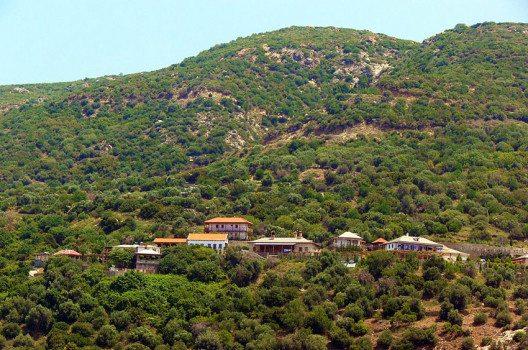 Die Skite des Klosters Modestos (Bild: Fingalo, Wikimedia, CC)