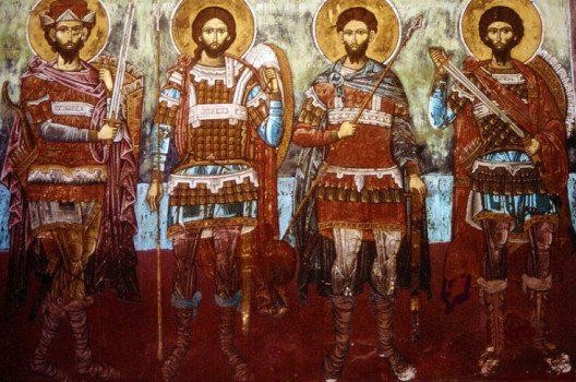 Wandgemälde im Kloster Vatopedi (Bild: Prof. emeritus Hans Schneider, Wikimedia, GNU)