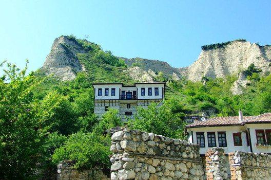 Stadt Melnik (Bild: http://dupnitsa.net/, Wikimedia, GNU)