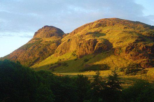 Arthur's Seat ist die höchste Erhebung der Hauptstadt Schottlands. (Bild: David Monniaux, Wikimedia, CC)