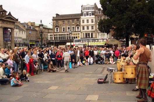 Edinburgh ist die Stadt der Festivals. (Bild: Christian Bickel, Wikimedia, CC)