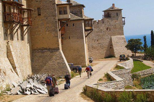 Ein Besuch von Berg Athos ist nur erwachsenen Männern vorbehalten. (Bild: Dave Proffer, Wikimedia, CC)