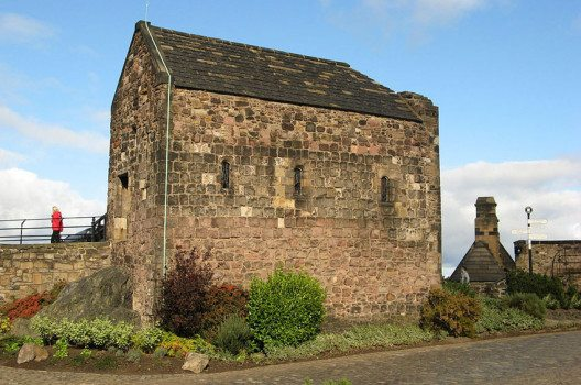 St. Margaret's Chapel – das älteste Gebäude Edinburghs. (Bild: Jonathan Oldenbuck, Wikimedia, GNU)