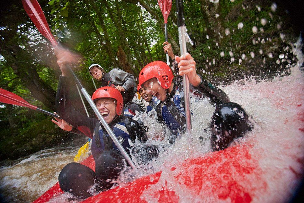 Cardiff verspricht echten Wildwasser-Rafting-Spass. (Bild: gce-agency.com)
