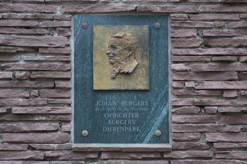 Der Zoogründer und Namenspatron Johan Burgers. (Bild: © Bkorsten - CC BY-SA 3.0)