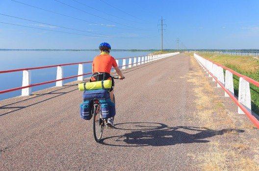 Die Insel lädt zum entspannten Fahrradfahren ein.