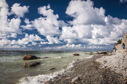 Estland hat eine wunderschöne Natur zu bieten. Nicht nur im Nationalpark, sondern auch hier, bei Panga Pank - der grössten Klippe der Insel.