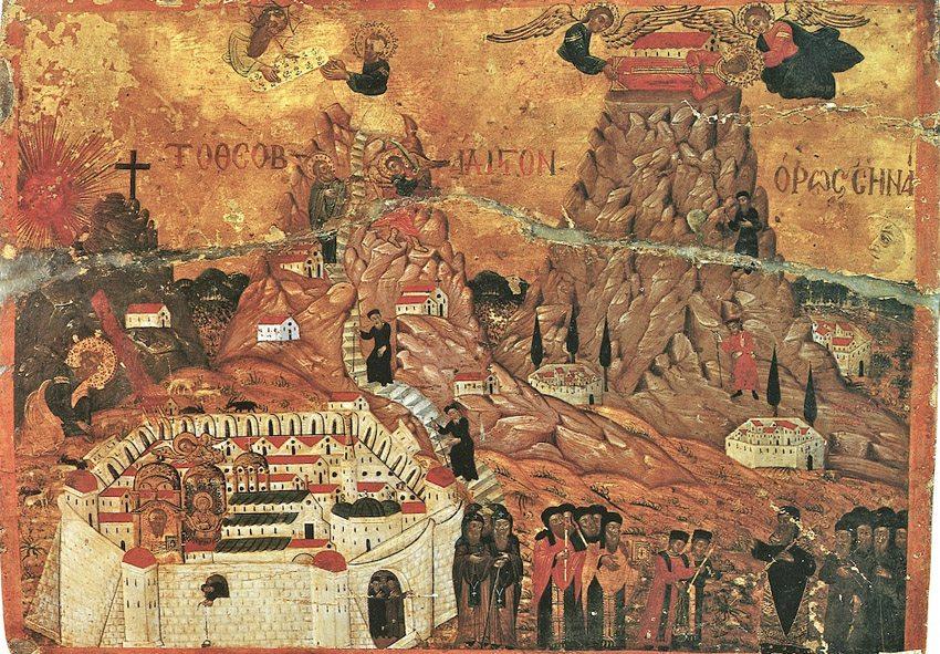 Ein anderer Schatz des Katharinenklosters ist die Ikonen-Sammlung. (Bild: pd-old, Wikimedia, public domain)