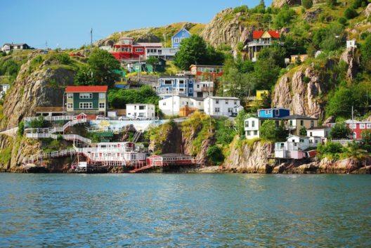 Die Hauptstadt Neufundlands - St. Johns (Bild: © Justek16 - shutterstock.com)