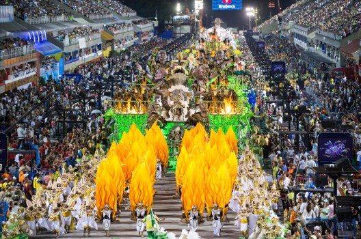 Karneval in Rio de Janeiro.