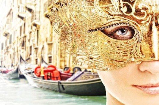 Der Karneval von Venedig ist für die verschiedenartigen Masken berühmt.
