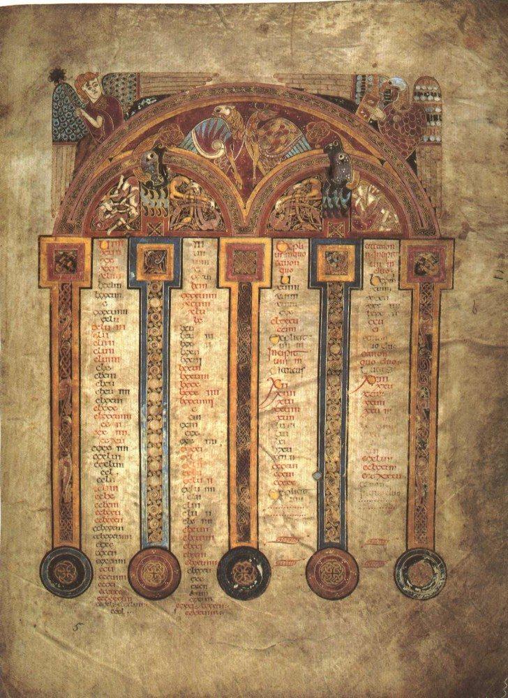 Das schönste Buch der Welt – das Book of Kells (Bild: © wiki.org)