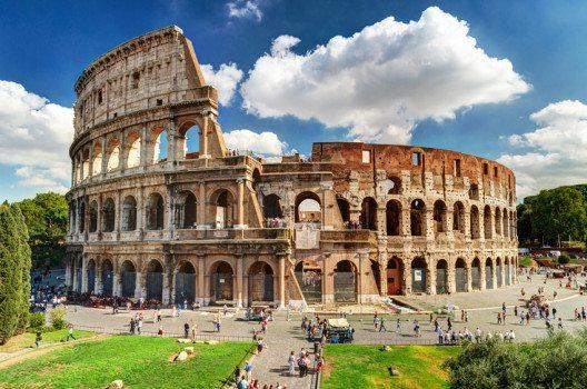Kolosseum – das Wahrzeichen Roms. (Bild: Viacheslav Lopatin – shutterstock.com)