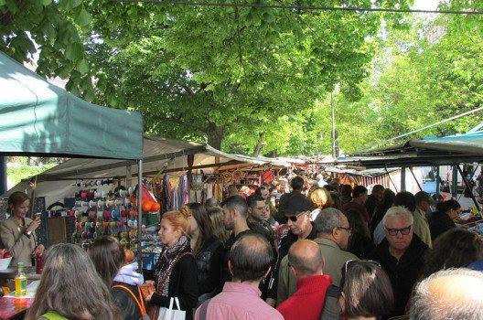 """Der """"türkische Markt"""" am Maybachufer. (Bild: Orderinchaos, Wikimedia, CC)"""