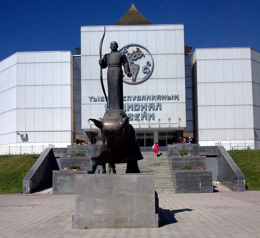 Nationalmuseum Tuwas in Kysyl (Bild: Oschtan, Wikimedia, CC)