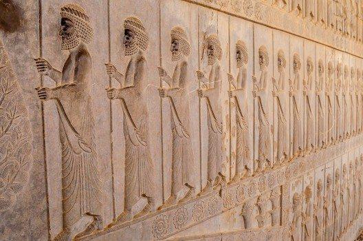 Tafeln wie diese erinnern an eine Zeit, in der das alte Persien eine unbestreitbare Weltmacht war.