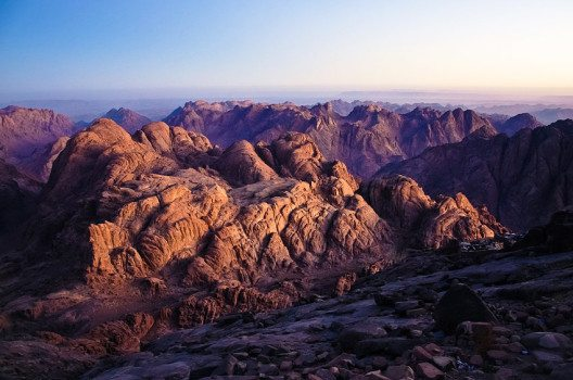 Blick vom Berg Sinai (Bild: Mohammed Moussa, Wikimedia, CC)