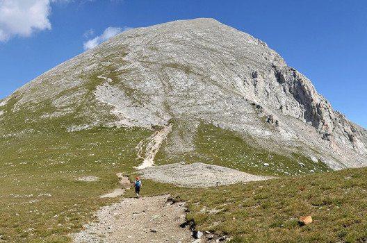 Der grösste Berg des Pirin-Gebirges, der Wichren, ist 2914 Meter hoch. (Bild: Pudelek, Wikimedia, CC)