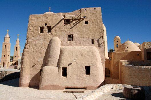 Antoniuskloster in Ägypten – eines der ältesten christlichen Klöster weltweit. (Bild: Gray wall studio – shutterstock.com)