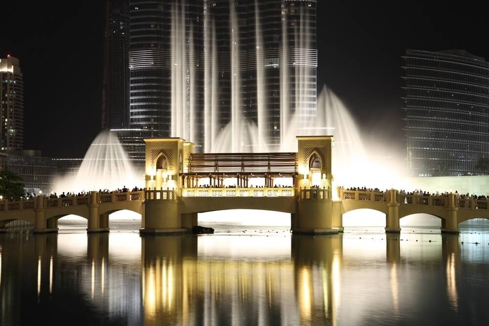 Die Dubai Fountain (Bild: © Sergey Aryaev - shutterstock.com)
