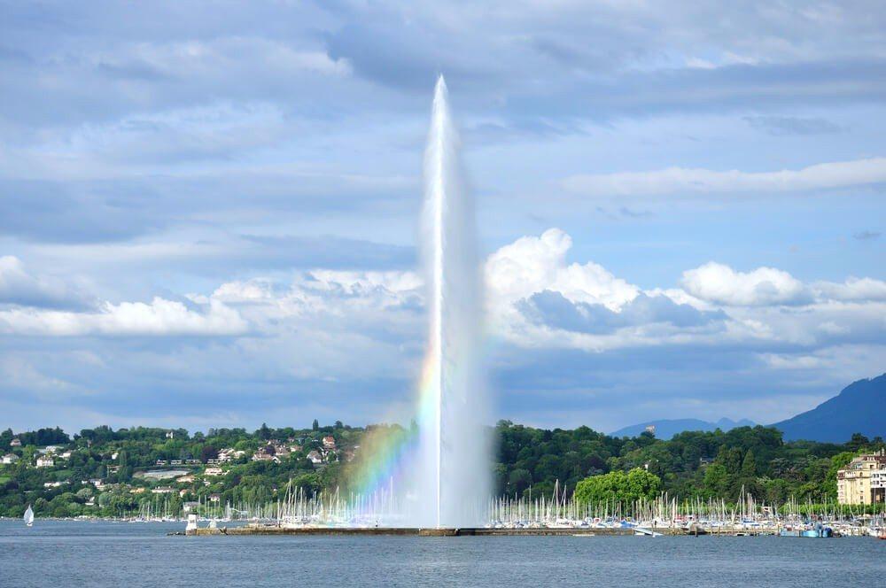 Der Jet d'eau (Bild: © Telegin Sergey - shutterstock.com)