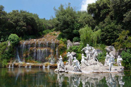 Wasser ist das zentrale Element des Parks. (Bild: Antonio Gravante – shutterstock.com)