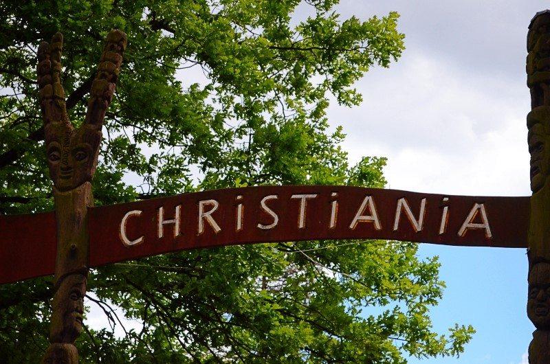 """""""Fristad Christiania"""" im Stadtteil Christianshavn (Bild: © Julia Schattauer)"""