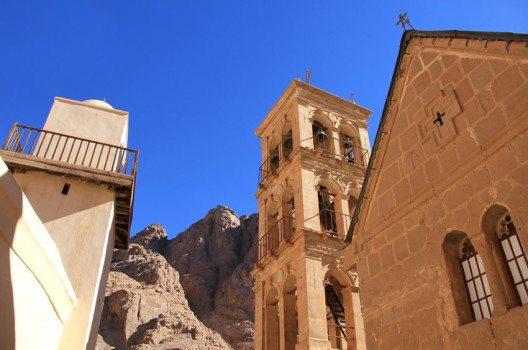 Katharinenkloster: eine eigene Kirche und eine Moschee. (Bild: DDCoral – shutterstock.com)