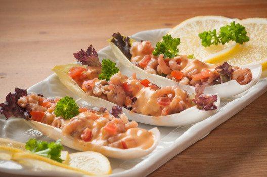 Besonders aussergewöhnlich für Krabben ist die Kombination mit Käse. (Bild: studio vanDam – shutterstock.com)