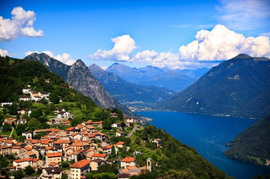 Blick auf Lugano (Bild: seawhisper – shutterstock.com)