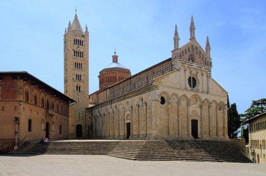 Die Kathedrale von Massa Marittima (Bild: LianeM – shutterstock.com)