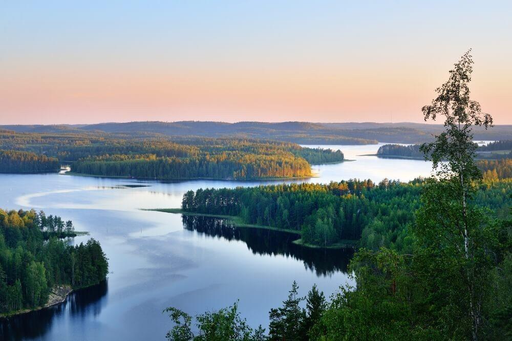 Der Saimaa-See ist der grösste finnische See und einer der grössten in Europa. (Bild: © Aleksey Stemmer - shutterstock.com)