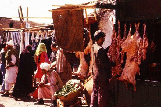 Markt in Kabul 1979 (Bild: Lutralutra, Wikimedia, GNU)