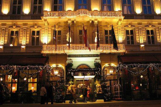 Hotel Sacher in Wien, Österreich. (Bild: kodiak, Wikimedia, Gnu)