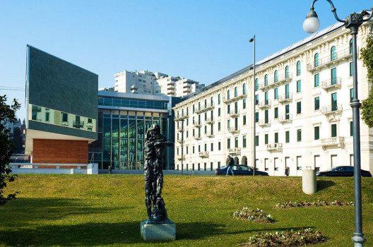 LAC – das Kunst- und Kulturzentrum von Lugano. (Bild: Monster4711, Wikimedia, GNU)