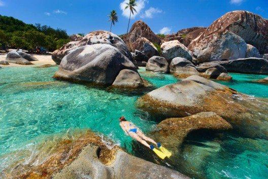 Die British Virgin Islands ist bei Tauchern sehr beliebt. (Bild: © BlueOrange Studio - shutterstock.com)