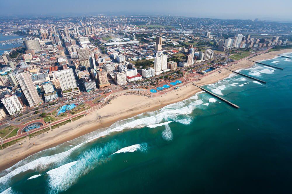 Durban - einer der beliebtesten Ferienorte in Südafrika. (Bild: © michaeljung - shutterstock.com)