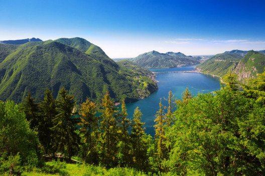 Monte San Salvatore bei Lugano (Bild: gevision – shutterstock.com)