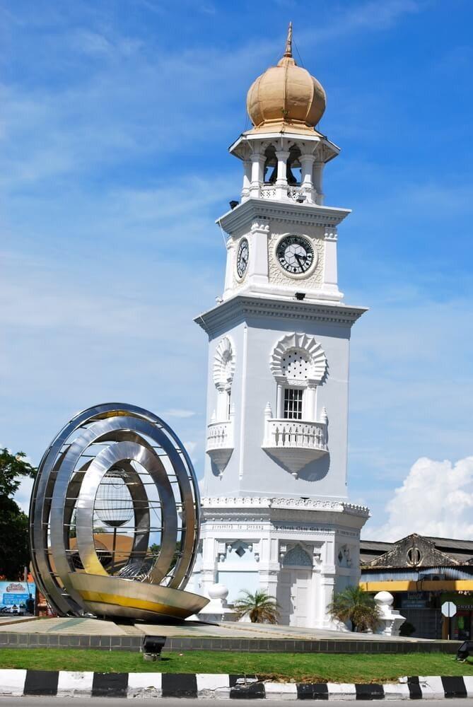 George Town ist auch heute noch eine der wichtigsten Hafenstädte Malaysias. (Bild: © Chris Jenner - shutterstock.com)