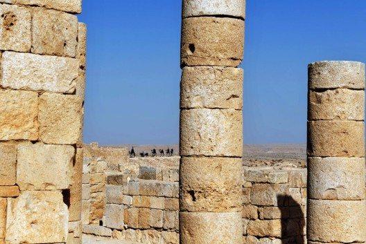 Der Avdat-Nationalpark umfasst eine kleine Fläche rund um die Ruinen einer alten Nabatäerstadt. (Bild: © ChameleonsEye - shutterstock.com)