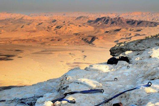 Der Machtesch Ramon ist der weltweit grösste Erosionskrater. (Bild: © dnaveh - shutterstock.com)
