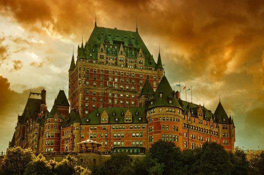 Château Frontenac in Quebec-City, Kanada. (Bild: CristinaMuraca, shutterstock.com)