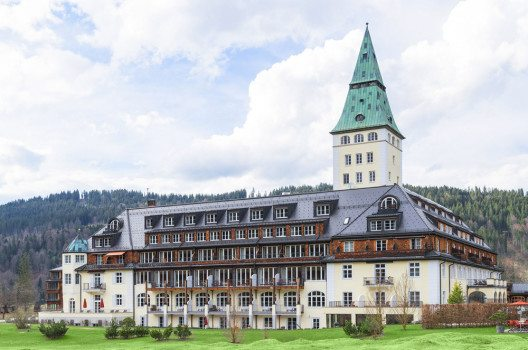 Schloss Elmau in Krün, Deutschland. (Bild: servickuz – shutterstock.com)