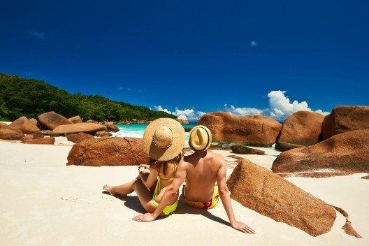 Die Seychellen gehören zu den beliebtesten Inseln für Verliebte. (Bild: © haveseen - fotolia.com)