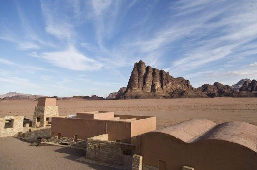 Dem Besucher eröffnen sich immer wieder wunderbare Blicke auf die Wüstenlandschaft (Bild: © Ahmad A Atwah - shutterstock.com)